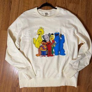 Kaws x Uniqlo x Sesame Street Group #2 Sweatshirt